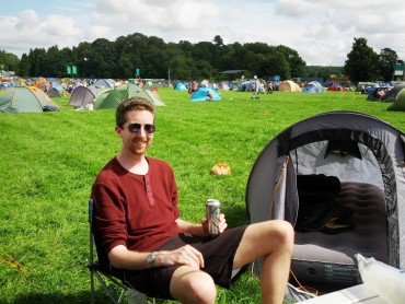 The V festival and my new home