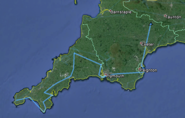 Cornwall and Devon: from Lizard to Torquay