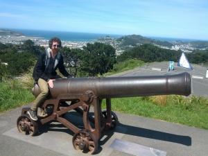 Clown on Cannon - Mt Victoria
