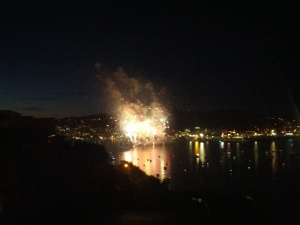 Guy Fawkes display from Roseneath