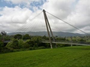 A bridge. In Upper Hutt.