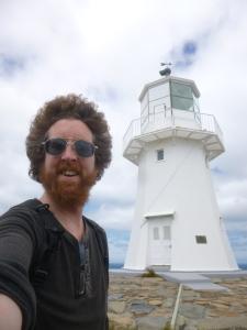 Pencarrow Lighthouse and I