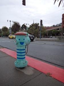 Cute hydrant