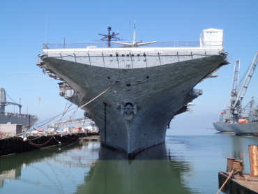 America – San Francisco: USS Hornet and Alcatraz