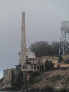 Old power station on Alcatraz