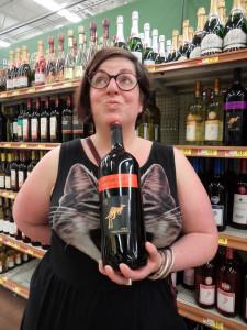 Giant wine!