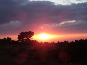 Sunset, Minehead