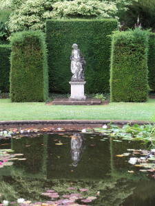 Lovely manicured gardens