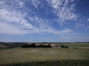 Old Cathedral site, from Old Sarum