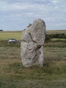 Alien Foetus rock - Avebury