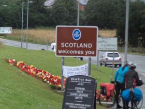 Scotland! Yay!