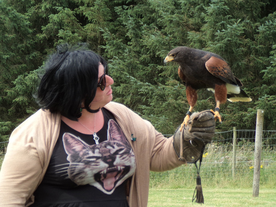 Scotland: Aberdeenshire – Huntly, Leith Hall and Falconry