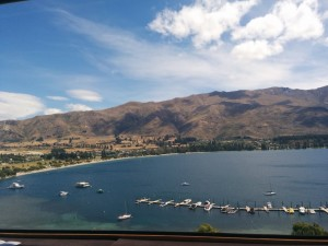 Above Lake Wanaka