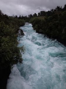 The Huka Falls