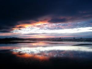 Sunset on Fitzroy beach