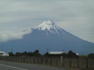 Mt Taranaki, a bit closer.