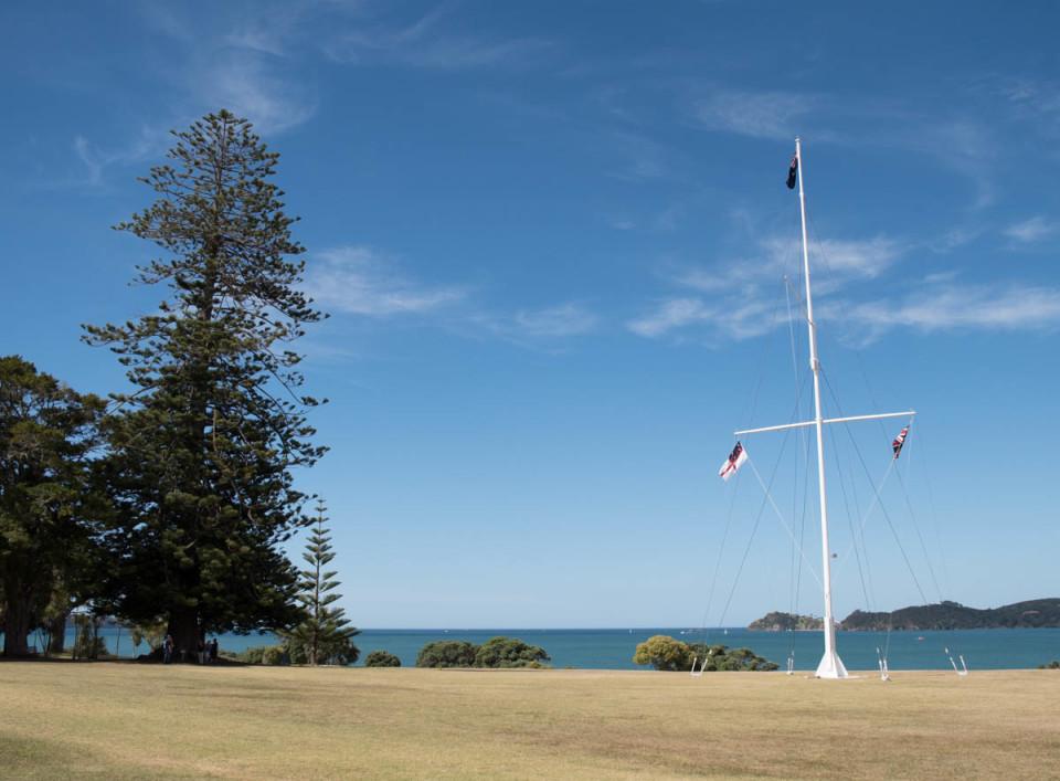 New Zealand: Kororareka/Russell and Waitangi