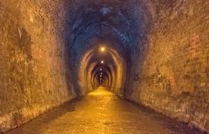 The Paihia-Wairoa railway tunnel, 1905