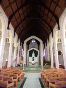 Inside St Patricks
