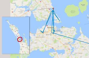 Auckland. 03.01.2017 - 07.01.2017
