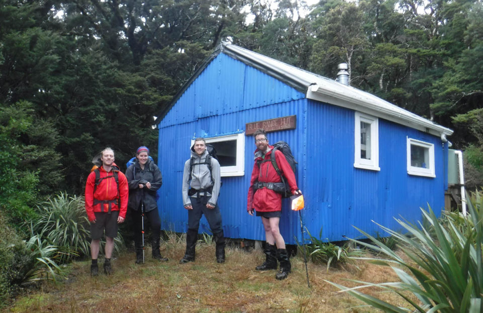 Tramping: Cow Creek and Blue Range Hut via Ruamahanga River