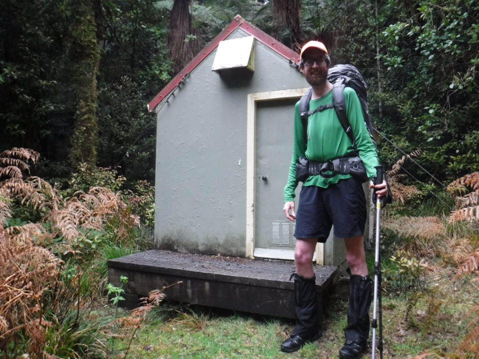 Tramping: Island Forks Hut via Waitewaewae returning along hideous unmarked ridge