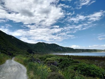 Tour Aotearoa, Training: Remutaka Cycle Trail (mostly)