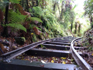 Sheridan Creek Rail Track